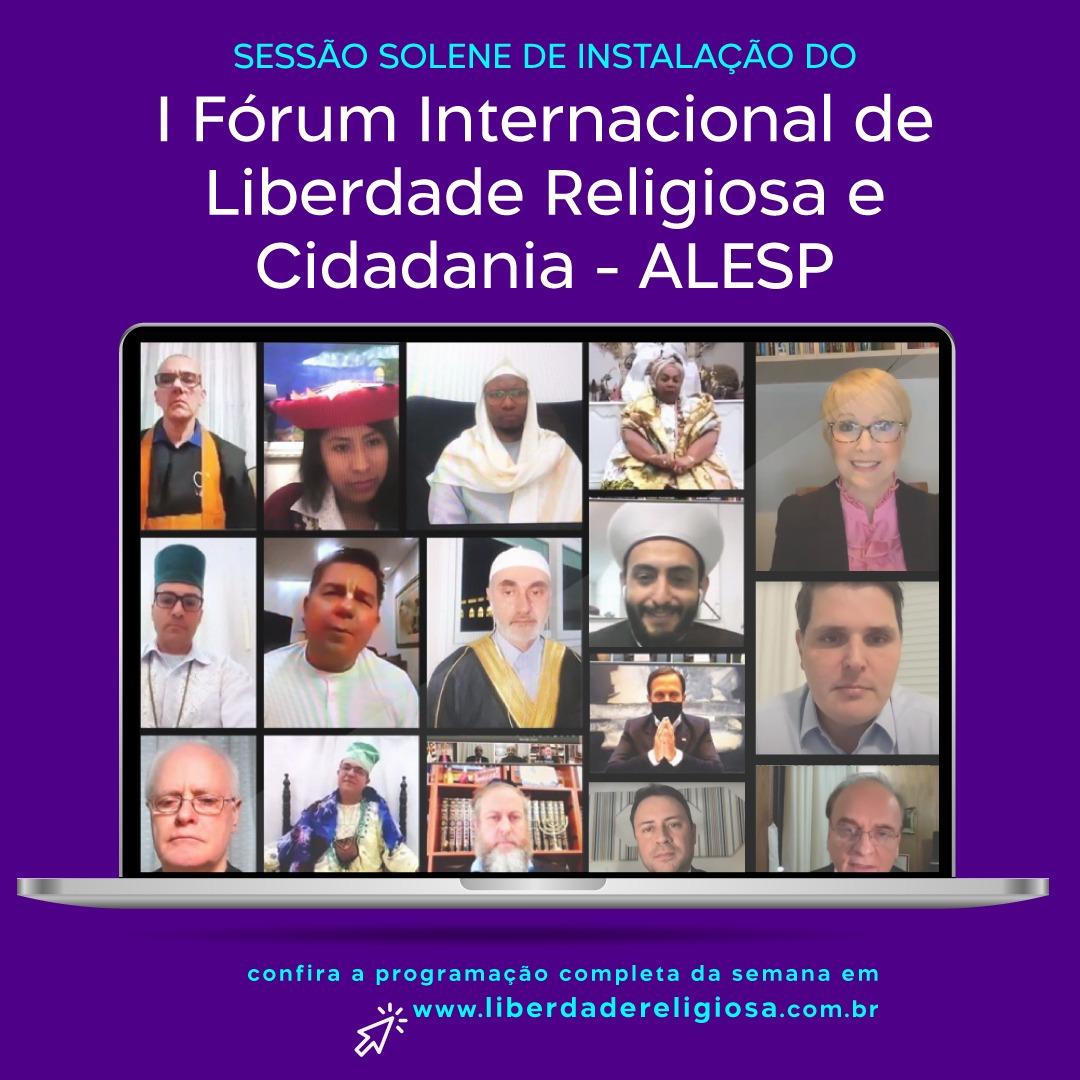 I Fórum Internacional de Liberdade Religiosa e Cidadania